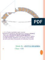 Class_xii-mysql and It Application Notes