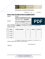 Ofc. Nº 0000 Modelo de Sistemas
