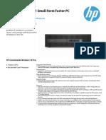 elitedesk800G2 datasheet