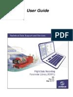 FLIGHT DATA RECORDING PARAMETER LIBRARY FDRPL