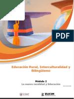 La Nueva Ruralidad y Educacion