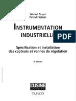Instrumentation Industrielle Spécification Et Installation Des Capteurs Et Vannes de Régulation (Genielectromecanique.com)