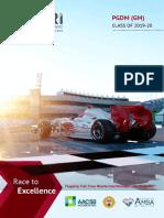XLRI GMP Placement Brochure 2019-20