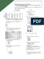 Eval. Matematicas II P-2019