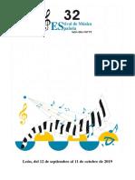 32 festival de música española de león