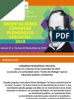 Orientaciones Congreso Pedagogico Circuital AULA TALLER