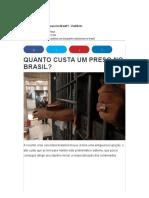 34 - Politize - Quanto Custa Um Preso No Brasil