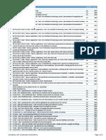 00 List of Standards