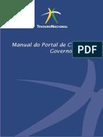 Manual do Portal de Custos do Governo Federal