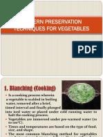 Modern Preservation Techniques for Vegetables