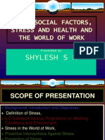 3) Psychosocial-stress (Training)