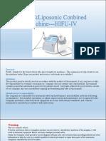 Hifu and Liposunix Combine Machine (2)