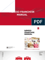 Miniso Franchise Manual