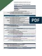 Calendario Academico 2ciclo 2019 UG