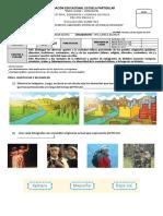 Evaluacion Historia, Aportes Pueblos Originarios.