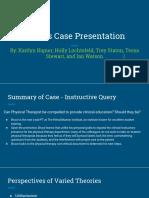 ethics case presentation