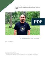 Entrevista a Valter Cruz do Carmo