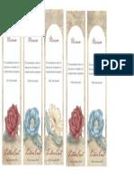 Señaladores Del Día de Las Madres Para Imprimir en Casa Gratis - Tarjetas de Papel Gratis - Correomagico