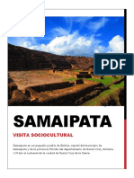 INFORME SAMAIPATA