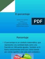 El porcentaje PAZ.pptx