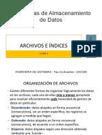 EAdD 5 Archivos e Indices