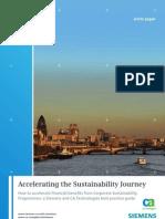 Accelerating the Sustainability Journey