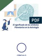 El Significado de Los Simbolos Planetarios.