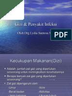 gizi & penyakit infeksi