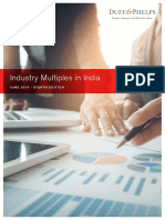 Industry multiples