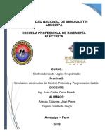 Practica 2 - PLC