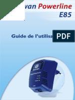 Guide de l'utilisateur CPL bewan Powerline E85