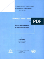 Norms and Standards of Education Facilities