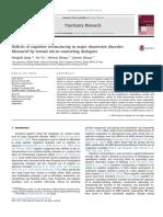 Deficits of Cognitive Restructuring in Major Depressive Disorder