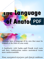 Chapter 1. the Language of Anatomy