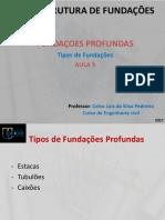 Estrutura de Fundações Aula 5