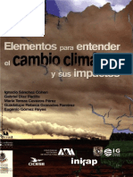 Elementos Para Entender El Cambio Climático y Sus ... ---- (Pg 1--69)
