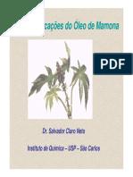 Usos e Aplicações do Óleo de Mamona - Salvador Claro Neto.PDF