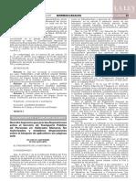 Decreto Supremo N° 035-2019-MTC