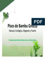 Catalogo Pisos de Bambu Greezu
