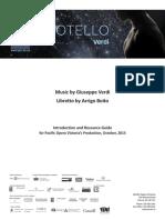 Otello Study Guide