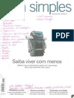 Revista Vida Simples Fev 2016 Ed 167