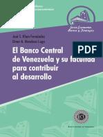 El BCV y Su Facultad Para Contribuir Al Desarrollo - Versión Final