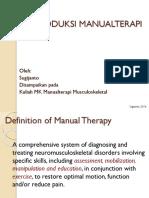 1, Introduksi Manual Terapi Musculoskeletal
