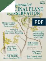 Journal of Medicinal Plant Conservation