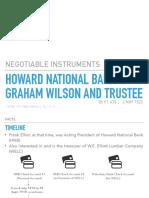 Howard National Bank v. Wilson PPT