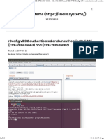 RConfig v3.9.2 Authenticated and Unauthenticated RCE (CVE-2019-16663) and (CVE-2019-16662) - Shells.systems