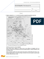 Geografia8 Teste 2A
