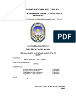 Practica 2 - Electrocoagulacion