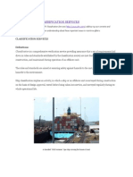 Ship Types and Classification Services
