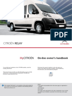 2012 Citroen Jumper Relay Owner Manual